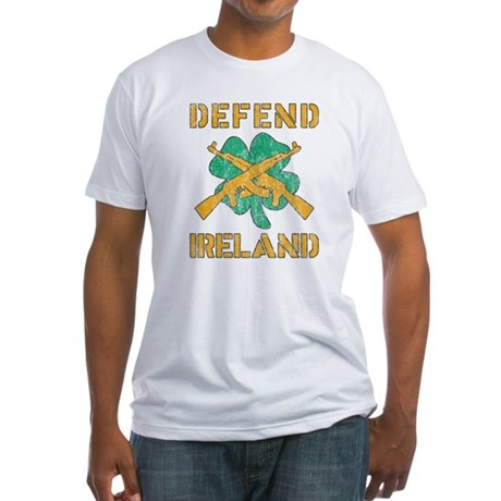 Defend Ireland Fitted T-Shirt