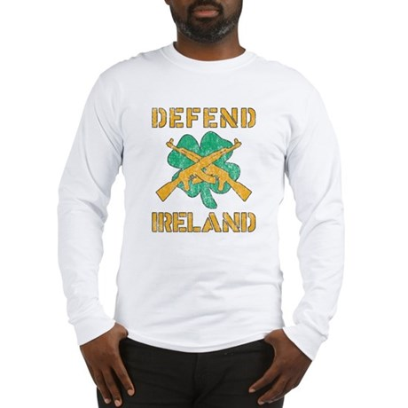 Defend Ireland Long Sleeve T-Shirt