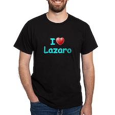 I Love Lazaro (Lt Blue) T-Shirt