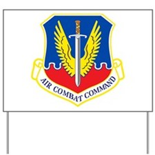 Air Combat Command Yard Sign