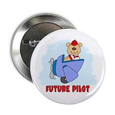 """Teddy Future Pilot 2.25"""" Button"""