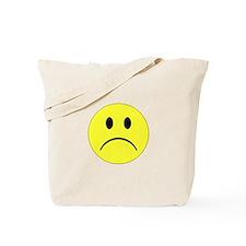 Sad Smiley Tote Bag