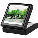 Romance in Central Park Keepsake Box