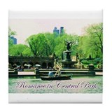 Romance in Central Park Tile Coaster