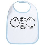 Hello Dolly Sheep Bib