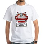 Nugent Family Crest White T-Shirt