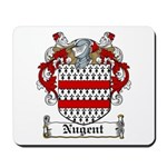 Nugent Family Crest Mousepad
