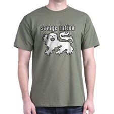 Savage Nation - Michael Savage Lion Heraldry Desig