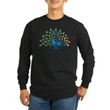 Autism peacocks T