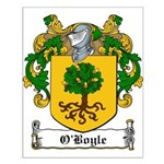 O'Boyle Family Crest Small Poster