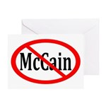Anti-McCain Election Greeting Card