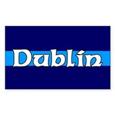 Dublin Rectangle Decal