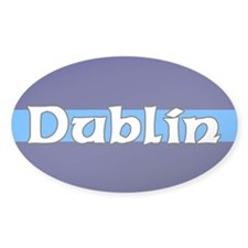 Dublin Oval Decal