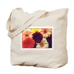 Vibrant Daisies Tote Bag
