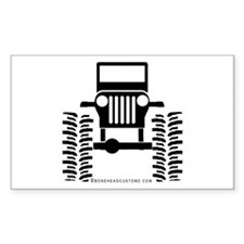 BIG WHEELS Rectangle Decal