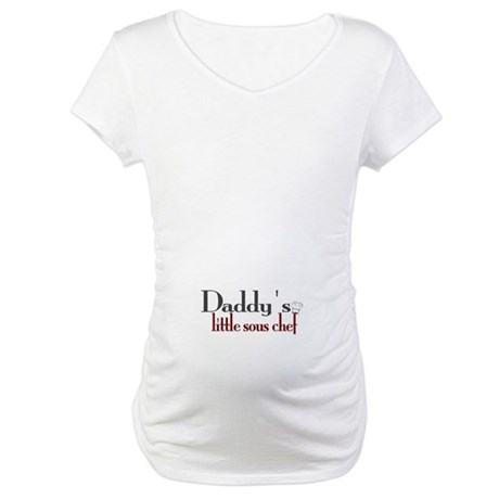 Daddy's Sous Chef Maternity T-Shirt