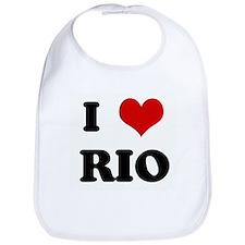 I Love RIO Bib
