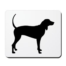 Coonhound Mousepad