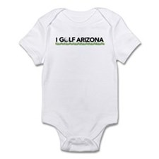 I Golf Arizona Infant Bodysuit