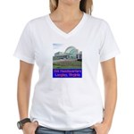 CIA Headquarters Women's V-Neck T-Shirt