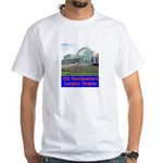 CIA Headquarters White T-Shirt