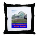 CIA Headquarters Throw Pillow