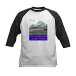 CIA Headquarters Kids Baseball Jersey