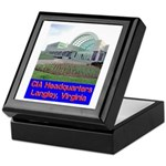 CIA Headquarters Keepsake Box