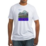 CIA Headquarters Fitted T-Shirt