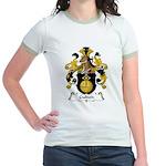 Gulden Family Crest Jr. Ringer T-Shirt