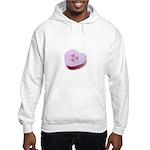 Biohazard Candy Heart Hooded Sweatshirt