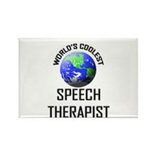 World's Coolest SPEECH THERAPIST Rectangle Magnet