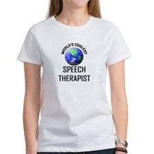 World's Coolest SPEECH THERAPIST Tee