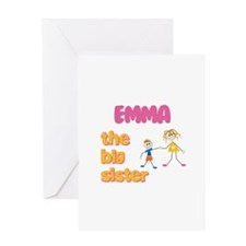 Emma - The Big Sister Greeting Card