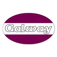 Galway Oval Decal