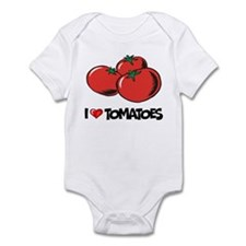 I Love Tomatoes Infant Bodysuit