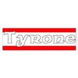 Tyrone Bumper Car Sticker