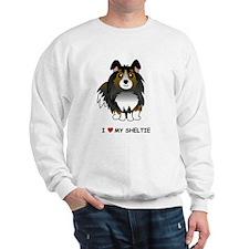 Tri Color Sheltie Sweatshirt