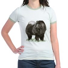 black chow portrait T