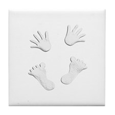 Unique Expecting baby Tile Coaster