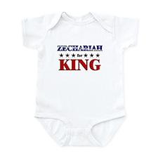ZECHARIAH for king Infant Bodysuit