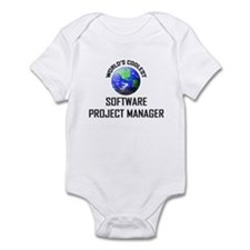 World's Coolest SOFTWARE PROJECT MANAGER Infant Bo