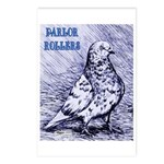 Parlor Roller Pigeon Postcards (Package of 8)