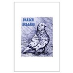 Parlor Roller Pigeon Large Poster