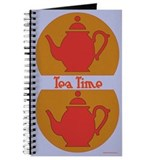 Tea Time Blue Journal