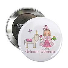 "Unicorn Princess 2.25"" Button (100 pack)"