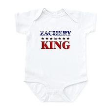 ZACHERY for king Infant Bodysuit