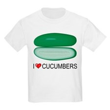 I Love Cucumber T-Shirt