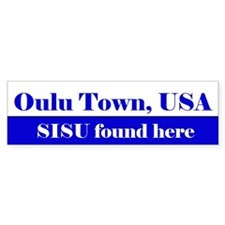 Oulu Town, USA, SISU found here