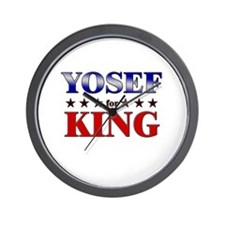 YOSEF for king Wall Clock
